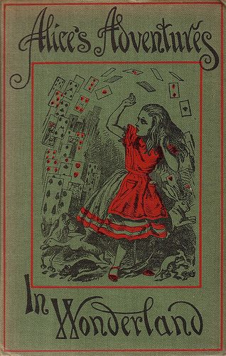 Alice's Adventures in Wonderland. 1933 edition of the 1885 classic. This is a famous example of a book written for a known child or children.