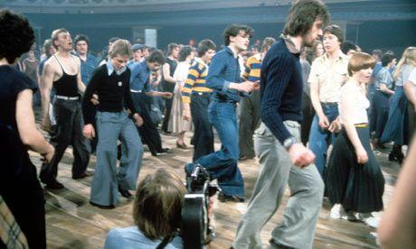 Dancers at the Wigan Casino, 1977.
