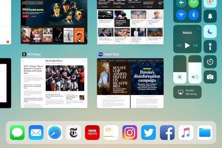 Using the New iPad Apps Dock Apples iOS 11 update for the iPad brings new ways to quickly jump to your favorite apps and other tablet controls. Technology iPad iOS (Operating System)