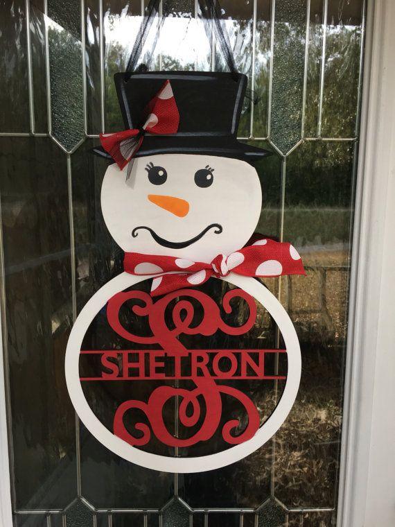 best 25  snowman door ideas on pinterest
