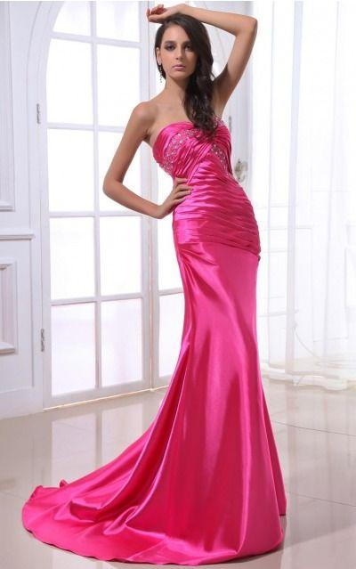 Satin Sweetheart Natural Mermaid Floor-length Bridesmaid Dresses 0190354