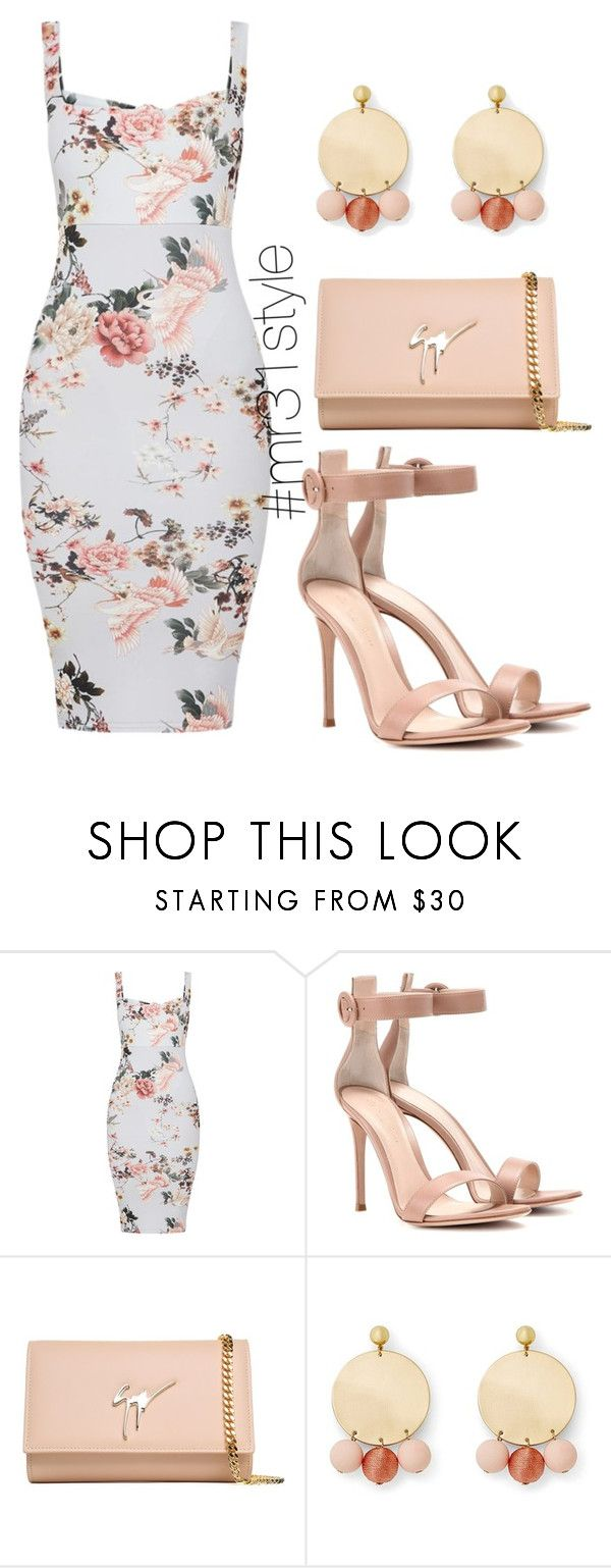 """Untitled #1039"" by mayelin-decire-rodriguez ❤ liked on Polyvore featuring Gianvito Rossi, Giuseppe Zanotti and Rebecca Minkoff"
