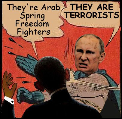 Obama and Putin Discuss The Middle East