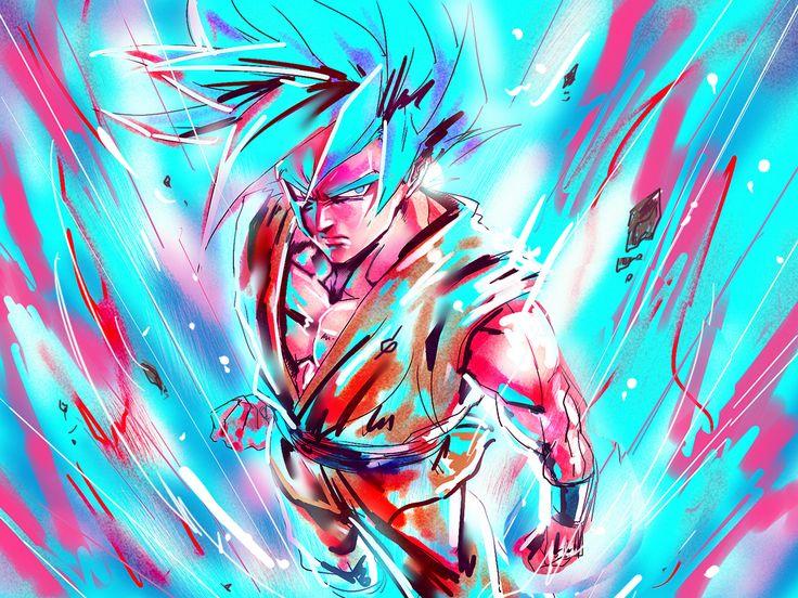 Son Gokū SSJB + Kaiô-ken - Dragon Ball Super | by 酉酉酉