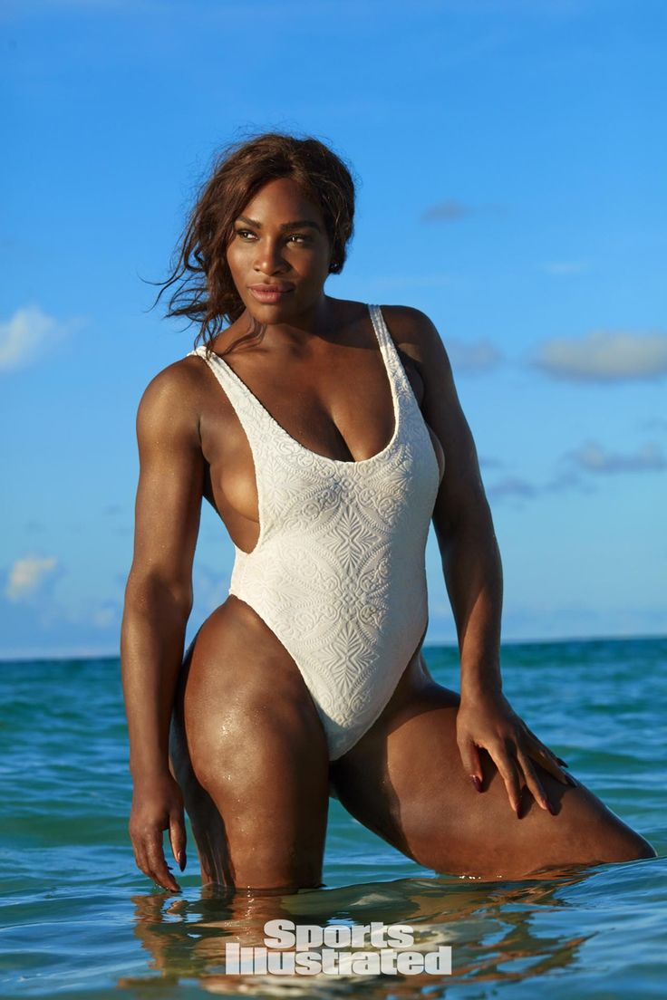 Chrissy! Serena! See the Sports Illustrated Swimsuit Issue's Chicest Looks via @WhoWhatWearUK