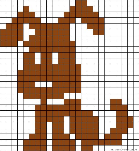 Dog perler bead pattern ...........click here to find out more http://googydog.com