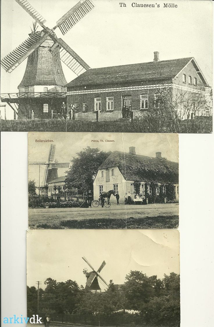 arkiv.dk | Bolderslev Mølle Hovedgaden 15