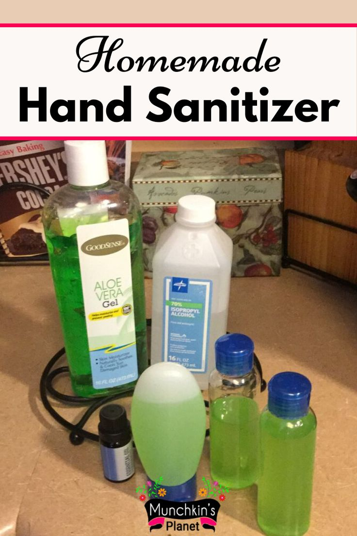 Pin on Homemade Hand Sanitizer DIY Recipes