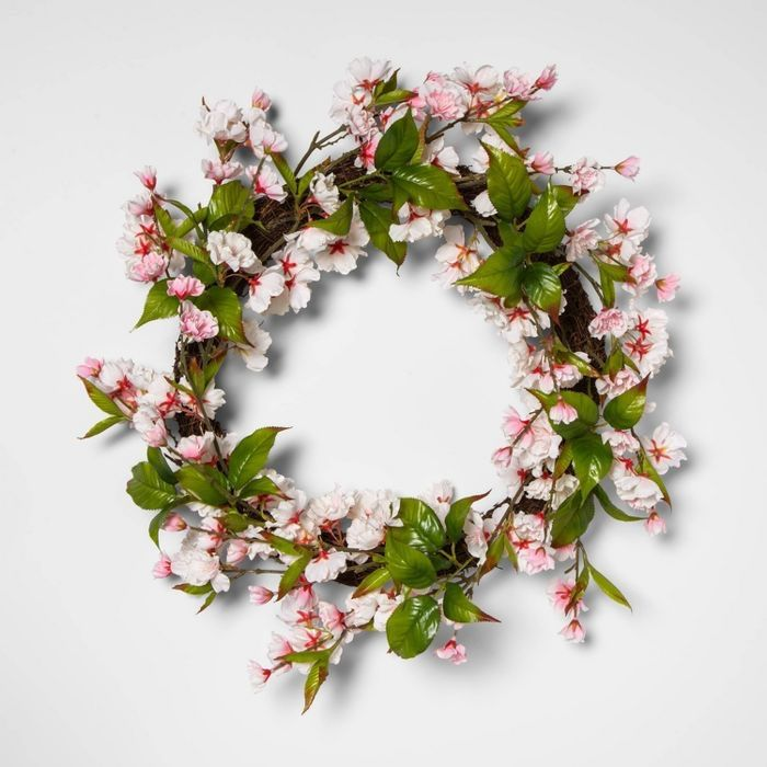New Spring Valentine S Day Decor At Target Cherry Blossom Decor Artificial Flowers And Plants Artificial Flowers