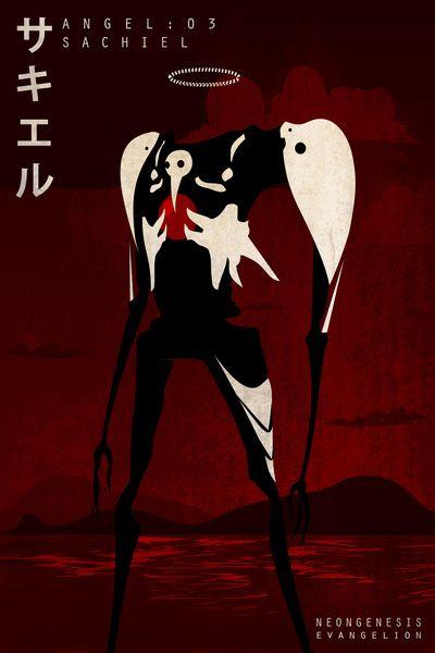 Neon Genesis Evangelion - Angel 03: Sachiel Art Print