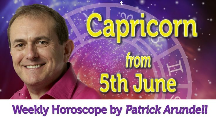 Capricorn Weekly Horoscope from 5th June - 12th June 2017