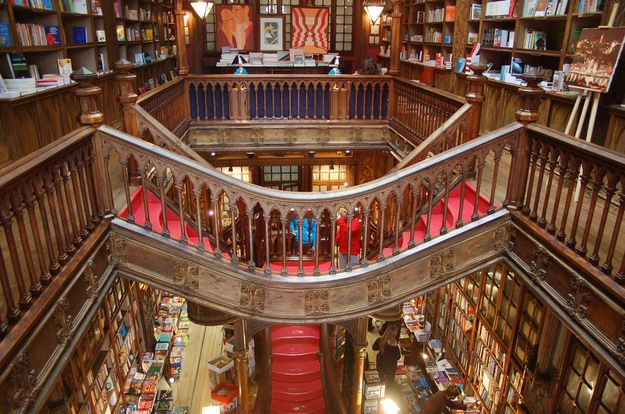 Livraria Lello in Porto, Portugal Community Post: 16 Bookstores You Have To See Before You Die
