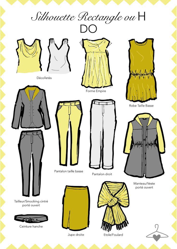 Bienvenue pour un nouvel article morphologieMa Personal Wardrobe ! Aujourd'hui nous allons parler de la silhouette en H. Sans taille...