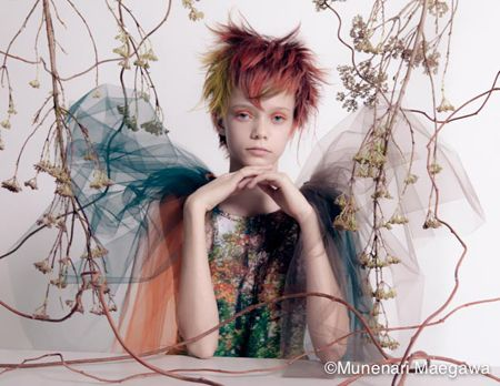 Fashion Portraits by Munenari Maegawa - 1