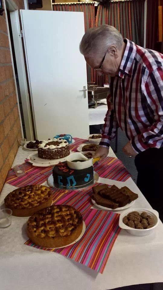 verjaardagsfeest met 4 taarten gemaakt door Esther's cakeshop