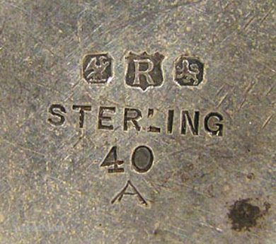 dating meriden b silver plate by makers mark