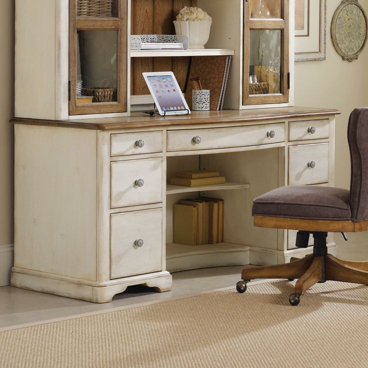Chic Coterie Computer Credenza by Hooker Furniture