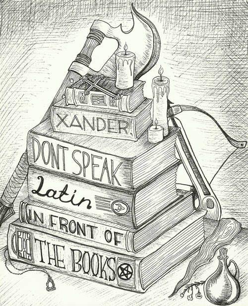 Firefly/serenity & Buffy illustrations - Whedonverse art! by JennaDickes