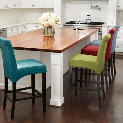 Valencia Bar Amp Counter Stool Dark Posts And Leather