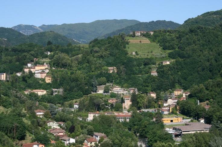 Bagni di Lucca hills