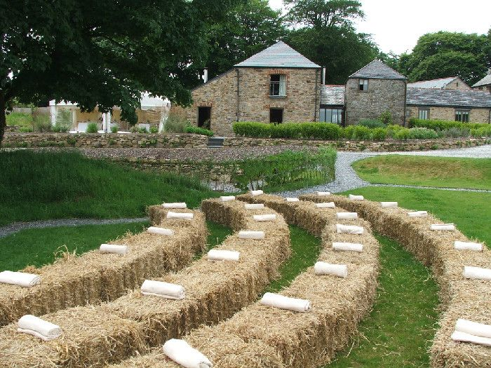 Hay Bale Seating Ideas | Home Design