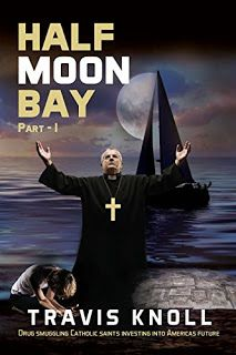 Crime Fiction: Half Moon Bay: Drug smuggling catholic saints investing into America's future #amreading #bookfans #books  https://www.amazon.com/dp/B01HLCKIYM    Learn how Silicon Valley started raising capital. In this book you will see our main character Rick transform into a Saintly figure by God and attempt to take his rightful position at the head of God's drug smuggling ring.  Bonus Coloring Book Within  Half Moon Bay Part I  What will we see in this thriller  Rick loses his father and…