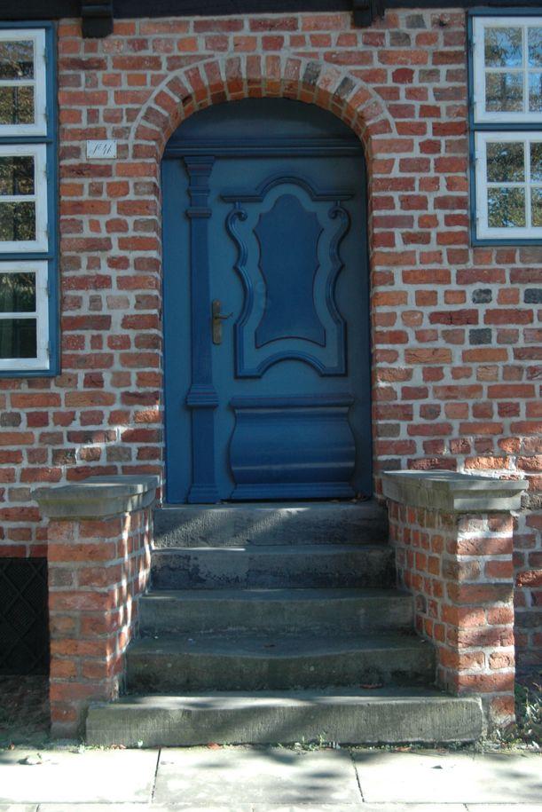Blaue Tür!