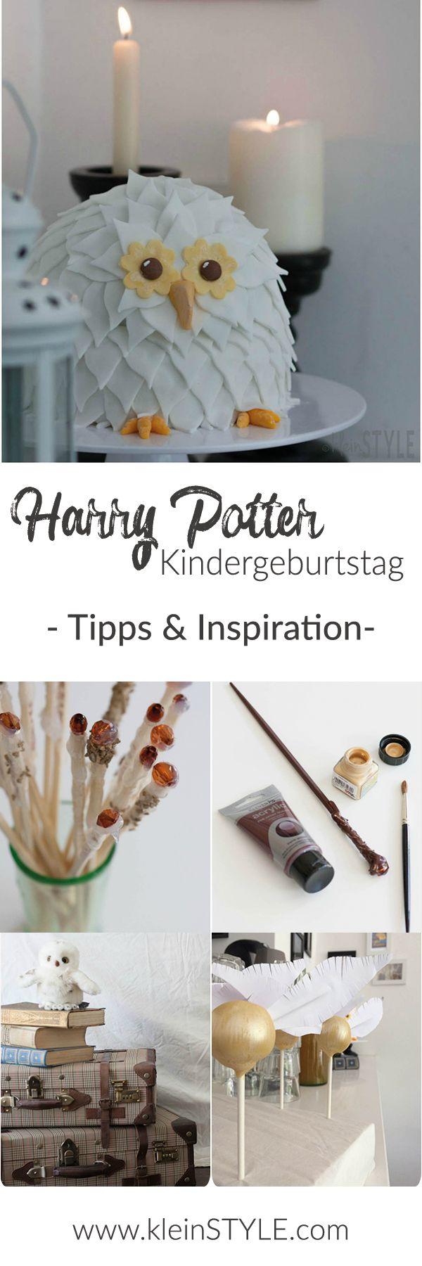 In der Welt von Harry Potter : Kindergeburtstag in Hogwarts