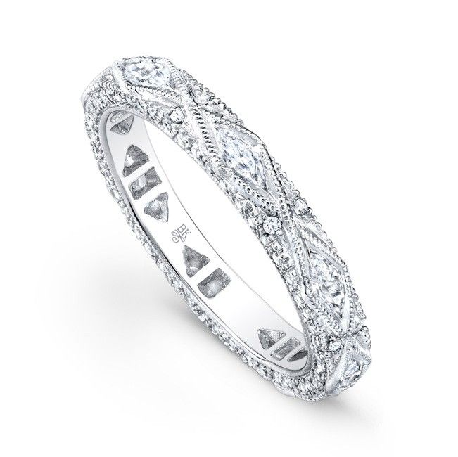 418 best unique wedding bands for women images on pinterest