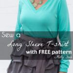 Sew a Long Sleeve T-shirt with Free Pattern