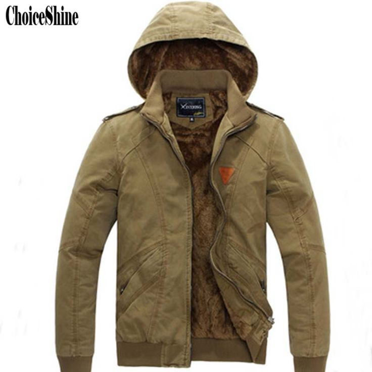 ==> [Free Shipping] Buy Best Winter Men 's New Code Mianfu Detachable Hooded Men' s Jacket Youth Thickening Plus Cashmere Tde Men's Winter Jacket Online with LOWEST Price | 32768618956