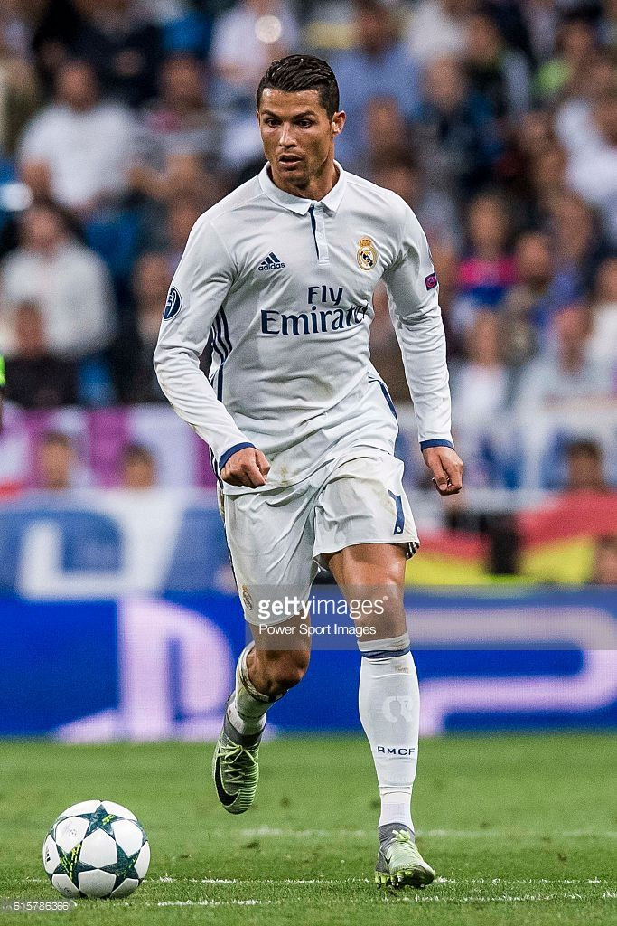 Cristiano Ronaldo Of Real Madrid In Action During Their 2016 17 Uefa Champions League Match Between Real Madrid Vs Spo Cristiano Ronaldo Ronaldo Madrid Ronaldo