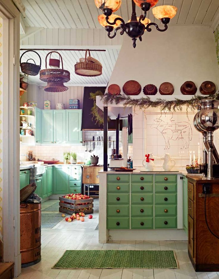 17 best images about interiors crazy eclectic country for Crazy kitchen ideas