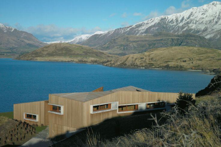 Te Kaitaka: Lake Wanaka Retreat, Wanaka, Stevens Lawson Architects