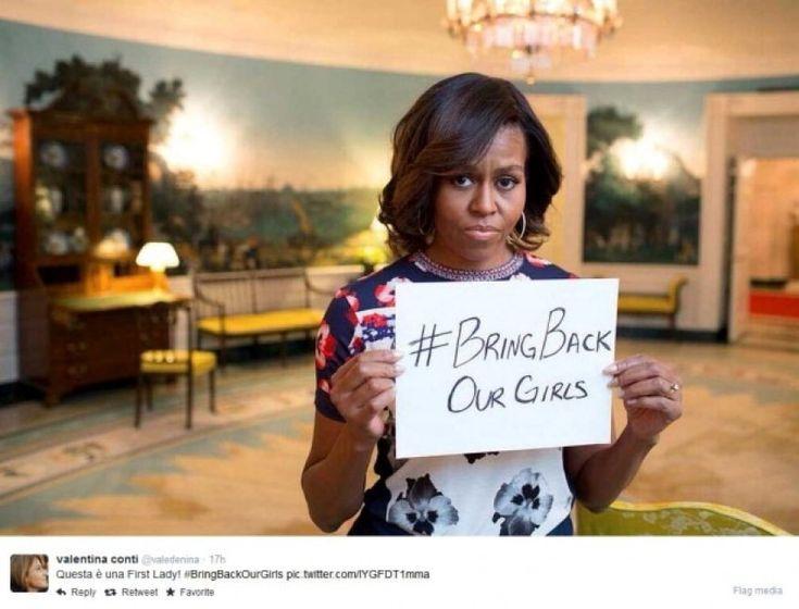 Nigeria, Malala lancia la campagna. L'adesione di Michelle Obama