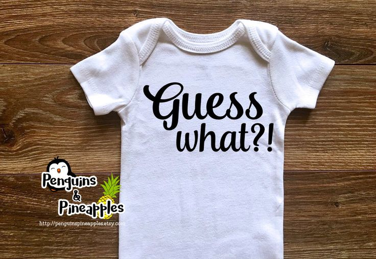 Guess what?! - Pregnancy announcement - Family pregnancy announcement - Pregnant bodysuit - Pregnancy reveal - Birth announcement - Pregnant by PenguinsPineapples on Etsy https://www.etsy.com/listing/469189539/guess-what-pregnancy-announcement-family