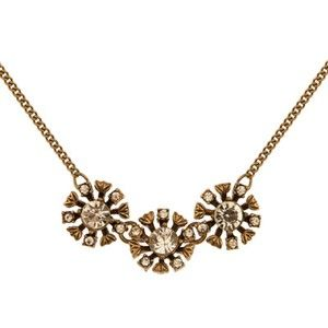 SHORT LENGTH GOLD NECKLACE - glass, metal, alloy, lead, nickel, cadmium, free, ... - Four Corners | Online Boutique Fashion Jewellery