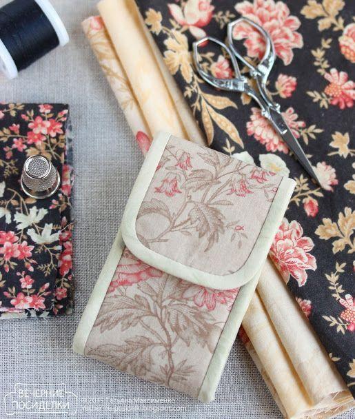 Как сшить швейный органайзер / Tiny sewing kit tutorial