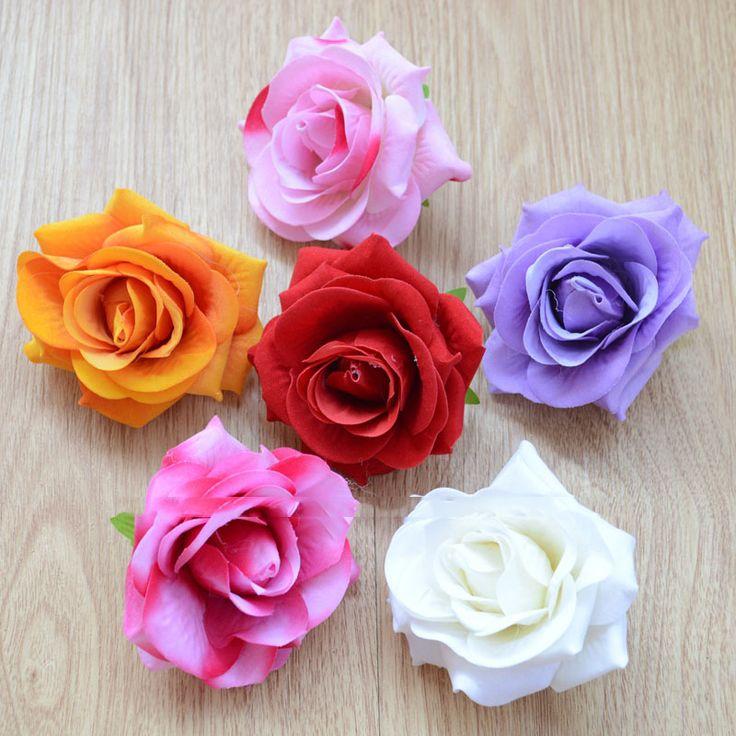 Искусственные цветы поделки ручной работы хорошо моделирование цветочную гирлянду из роз керлинг обувь свадебные декоративный цветок wholesa