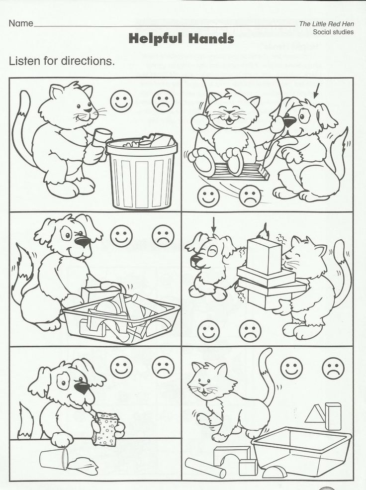 preschool good manners coloring pages - photo#23