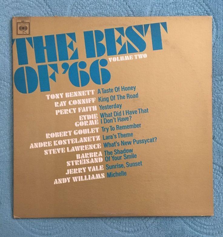The Best Of '66 Volume One - Dylan, Paul Revere, The Byrds (vinyl LP Record)    eBay