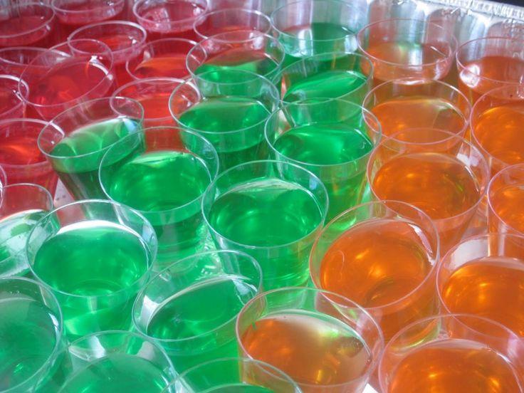 Recette Facile des Jello Shots : Comment Faire des Gelées Alcoolisées Américaines