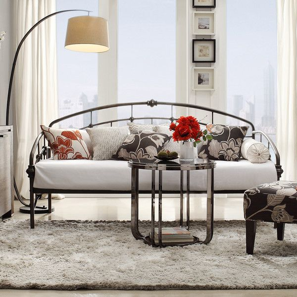 """43.25"""" H x 80.75"""" W x 41.75"""" D  12"""" clearance to floor.  Shop Wayfair for Daybeds to match every style and budget. Enjoy Free Shipping on most stuff, even big stuff."""
