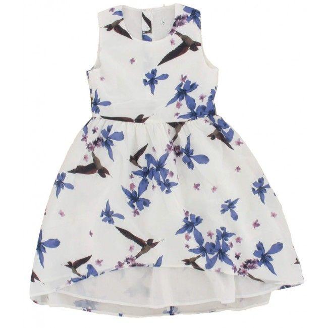 Name-it kids meisjes jurk gifason wit - Schweigmann