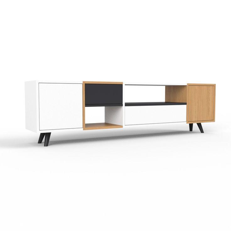 die besten 17 ideen zu sideboard schwarz auf pinterest. Black Bedroom Furniture Sets. Home Design Ideas