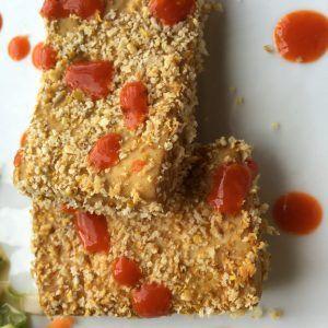 Spicy Panko Crusted Tofu