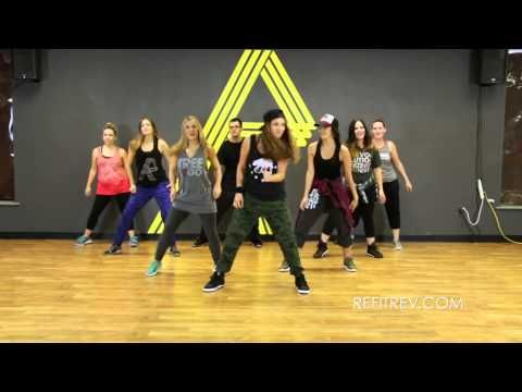 """Uptown Funk"" by Bruno Mars (Dance Fitness Video) with REFIT® Revolution - YouTube"