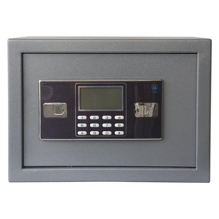 Stalwart Electronic Lock Floor or Wall Safe