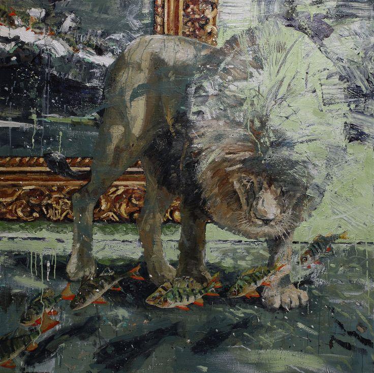 Tor-Arne Moen, 2015.  Change | 170x170 cm | Oil on canvas.