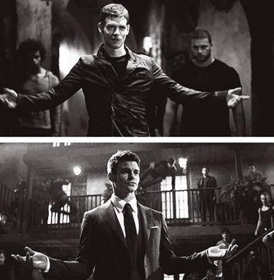 The Originals - Klaus and Elijah